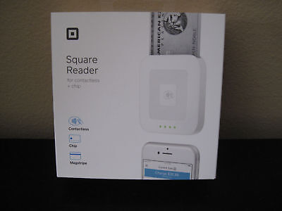 BRAND New SEALED Square Contactless and Chip Reader Credit Card Terminals Reader