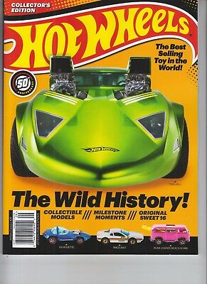 Hot Wheels 50Th Anniversary Athlon Magazine 2018 Best Selling Toy In The World