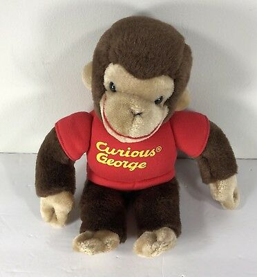 """Curious George by Gund Collectible 12"""" Plush"""