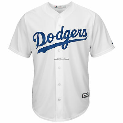 MLB Los Angeles Dodgers Majestic Replik Cool Base Heim Trikot Sport Shirt Kinder