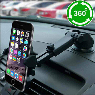 Universal Car Phone Holder Cup Suction Stand Mount Dashboard Bracket f/ Cell GPS