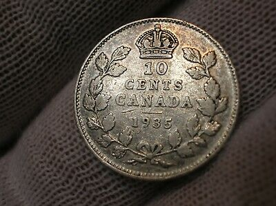1935 Canadian Ten Cent Silver