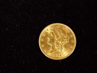 # 46G- 1894-- $20 Gold Liberty Coin  Have Had It For 60 Years