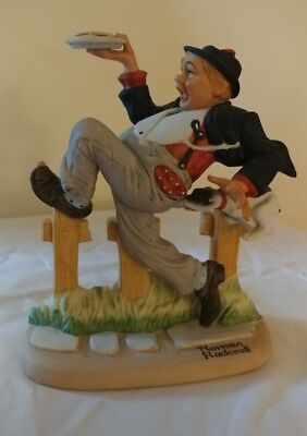 Norman Rockwell Caught in the Act Figurine The Danbury Mint