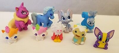 THINKWAY TOYS NEOPETS Electronic Pet Figure LOT Kougra Blue Tiger