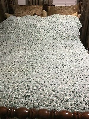 Very Old Antique Quilt Hand Sewn