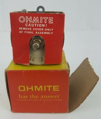 OHMITE 0311 4 OHMS Rheostat Ceramic 3.5A 50W / Variable Resistor model J