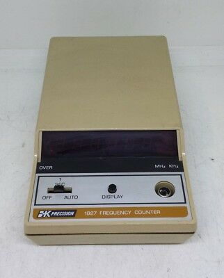 B&K Precision 1827 Frequency Counter UNTESTED AS-IS
