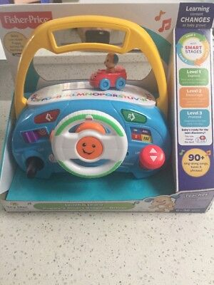 Fisher Price Laught & Learn Puppy Smart Stage Driver