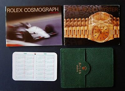 ROLEX COSMOGRAPH  DAYTONA  Booklet  Set  - USA  1990  FLOATING