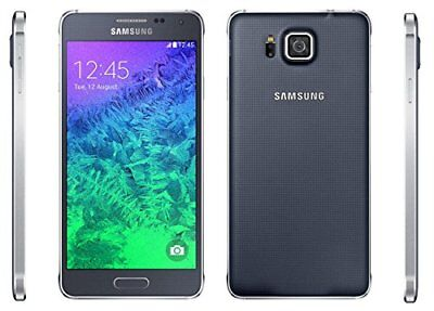 Samsung Galaxy Alpha SM-G850Y 32GB Charcoal Black (Unlocked) Android Smartphone