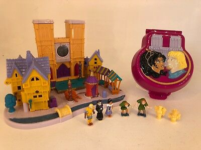 Vintage Bluebird - Polly Pocket - Disney - The Hunchback of Notre Dame Lot