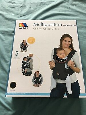 Molto Multiposition Comfort 3-in-1 Baby Carrier