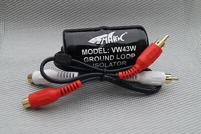 NIKKAI SHARK - Ground Loop Isolator removes earth-loop / hums VW43W