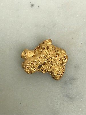 Natural Gold Nugget From Cue WA Near Pure 98.8 % Purity