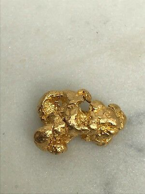 Natural Gold Nugget From Norseman WA near Pure 98.6 % Purity