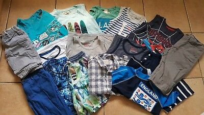 Boys Summer Or Holiday Clothes Bundle Size 7-8 Years