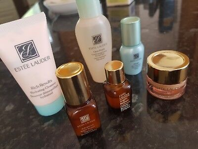 Estee Lauder Advanced Night Repair serum,cleanser,resilience lift,cellular Trial