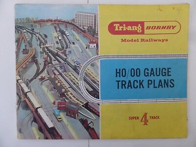 Tri-ang Triang Hornby Series 4 Track Plans Booklet