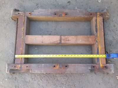 Stationary Engine Trolley Frame