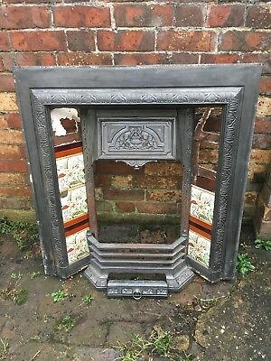 cast fireplace reproduction