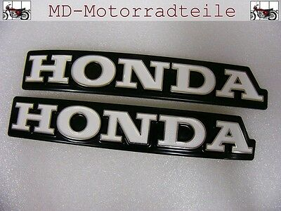 Honda CB 750 Four K3 - K6 Tankembleme Emblem Set left and right fuel tank