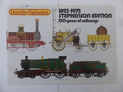 Hornby 1975 Train Catalogue 21th Edn (With Aust. Supplement)