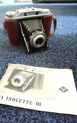 AGFA Isolette III with AGFA Solinar 1:3,5/75mm