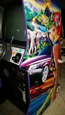 CRUIS'N EXOTICA STAND UP DRIVING ARCADE VIDEO GAME Shipping Available