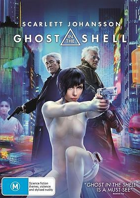 Ghost In The Shell (DVD, 2017) : very good  condition like new