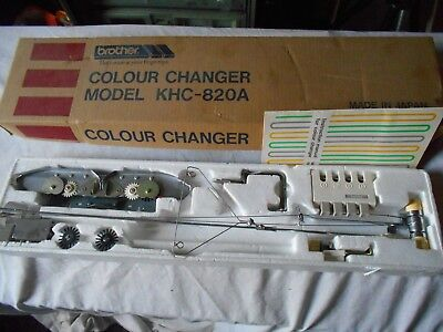 Brother Knitting Machine Colour Changer Model KHC-820A - Boxed With Instructions