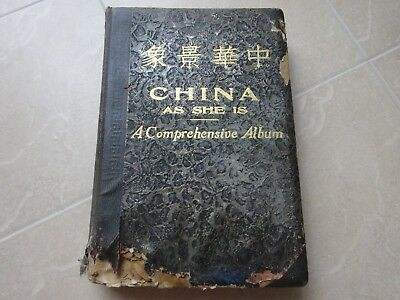 Book - China as she is 1934 - A comprehensive album 1000+ photos Shanghai