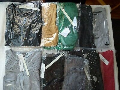 10 x Wholesale Assorted Tops S M & L Brand New with Tags Job Lot