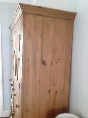 Antique Reclaimed Large Cupboard