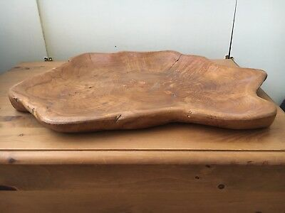 Wooden Carved Tray