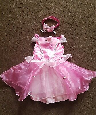 Disney Baby Sleeping Beauty Fancy Dress Costume - Size 18-24 Months
