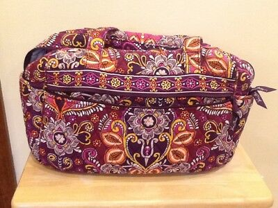 Vera Bradley Safari Sunset Stroll Around Diaper Bag with Changing Pad