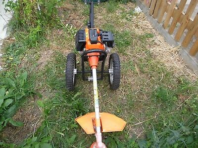 strimmer with wheels, 52cc petrol engine