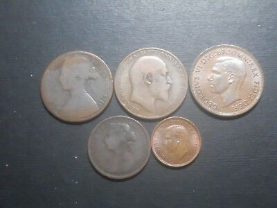 3830  - - Great Britain - Five Coins