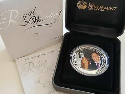 Australien 2011 Royal Wedding 1oz 1 Dollar CoA