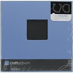 NEW American Crafts - Cloth D-Ring Album 8.5x11in. Sky