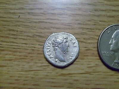 Unknown better grade Silver Ancient Roman Coin (lot # d2