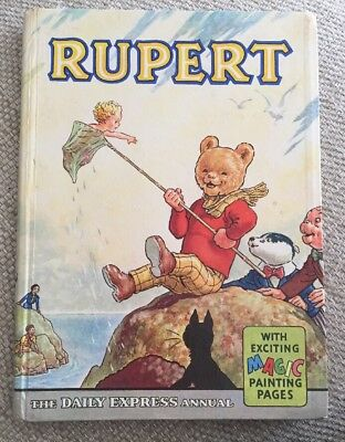 RUPERT ANNUAL 1963 - Daily Express - Unclipped - Spine Intact