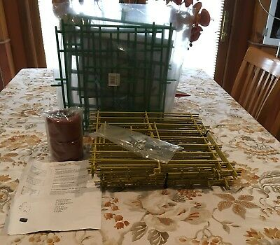 Lot of Racing Pigeon Box Fronts and 2 Goblets for Water/Feed!! Must See!!