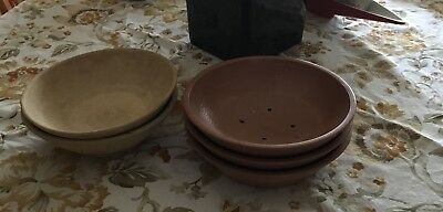 Lot of 5 Racing Pigeon Nests Bowls!! Must See!!