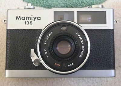 Mamiya 135 35 Mm Camera With Case