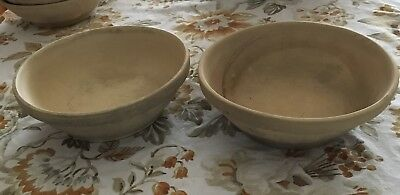 Lot of 2 Racing Pigeon Ceramic Nests Bowls!! Must See!!