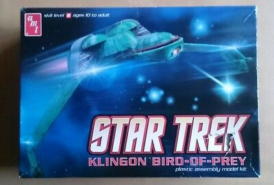 Star Trek - Klingon Bird of Prey - Modell Bausatz AMT 664 AMT664 1:350