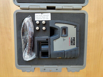 Porter-Cable Robotoolz RT-7610-5 Auto Plumb Laser Level With Paperwork Case
