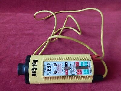 Ideal Vol-Con Voltage/Continuity Tester 61-079 With Probes S/R